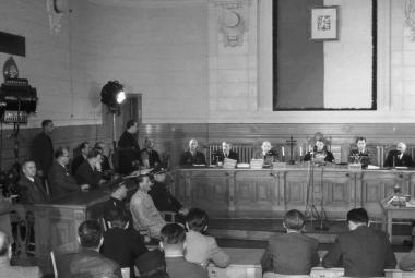 Lidové soudy byly politické, s právem neměly moc společného