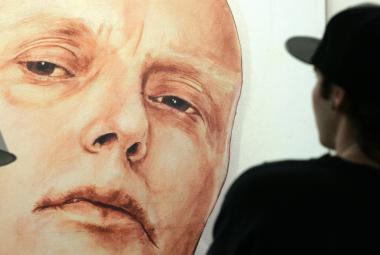 Plakát s motivem otráveného Litviněnka