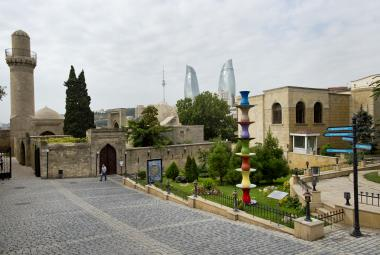 Ázerbájdžánská metropole Baku