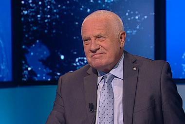 Václav Klaus v Událostech, komentářích