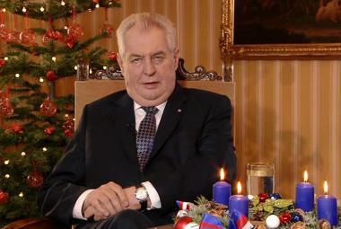 Vánoční poselství prezidenta Miloše Zemana