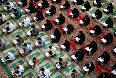 Íránská mešita