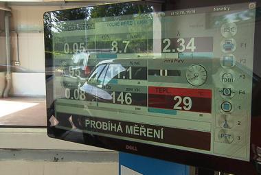 Měření emisí