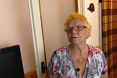 Je jí už 90 let. A je nejstarší dobrovolnicí Adry