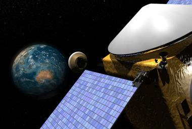 Sonda OSIRIS-REx dorazila k temnému asteroidu Bennu. Bude na něm pátrat po původu života
