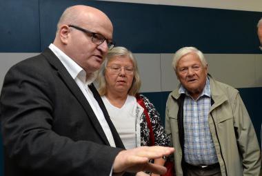 Daniel Herman, Tereza Brady a Jiří Brady