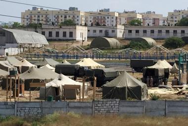 Ruská vojenská základna v Sevastopolu
