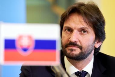 Slovenský ministr vnitra Robert Kaliňák