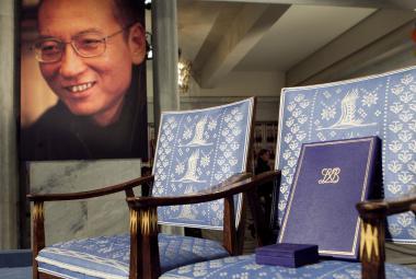 Liou Siao-po se předání Nobelovy ceny nemohl zúčastnit