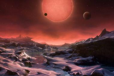 K soustavě Trappist s planetami podobnými Zemi by raketoplán letěl 1,5 milionu let. Jak to obejít?