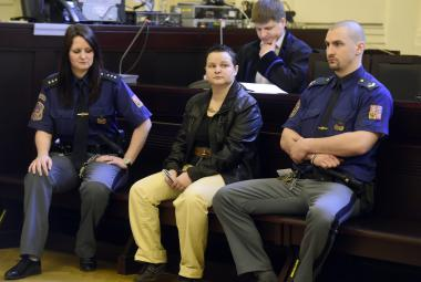 Michelle Sudků před soudem
