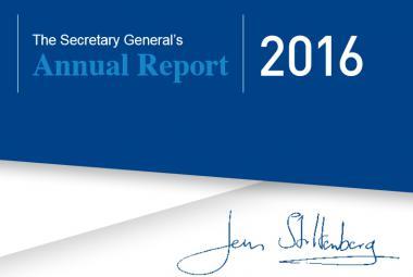 Výroční zpráva šéfa NATO