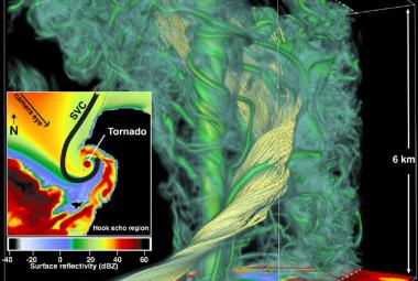 VIDEO: Meteorologové nasimulovali kompletní vznik nejsilnějšího tornáda