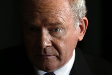 Martin McGuinness byl dlouholetým bojovníkem za sjednocení Irska