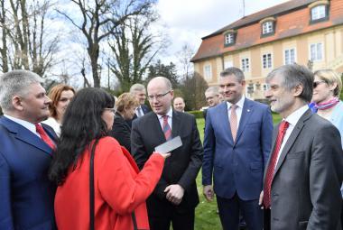 Setkání slovenské a české tripartity