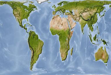 Některé americké školy přecházejí na jiný typ map. Evropa i USA jsou na nich menší