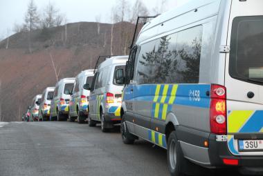Policisté zatýkali kvůli pašování drog do věznice Bytíz u Příbrami