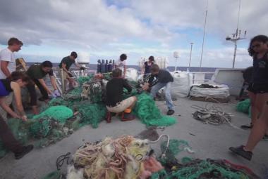 Čištění Tichého oceánu