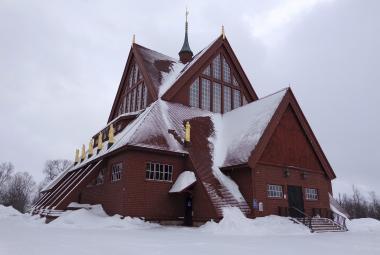 Nejsevernější švédské město Kiruna se stěhuje. Jinak by se propadlo pod zem