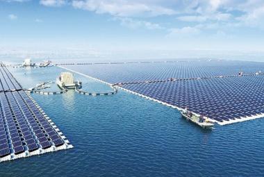 Plovoucí solární elektrárna