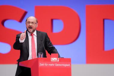 Předseda SPD Martin Schulz