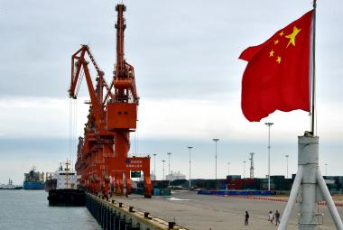 Čínský přístav v Pej-chaj