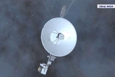Voyager 1 se vydal na cestu do hlubin vesmíru před 40 lety. Zemi dodnes zásobuje cennými daty