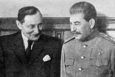 Zdeněk Fierlinger a J. V. Stalin