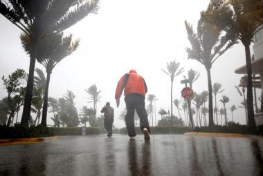 Hurikán Irma udeřil na Floridě, miliony domácností jsou bez elektřiny