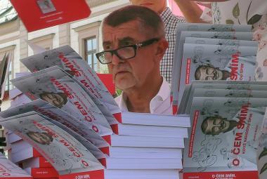 ANO dostalo pokutu 31 tisíc za Babišovu předvolební knihu