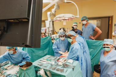 Transplantace srdce batoleti v Motole