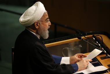 Hasan Rúhání v OSN