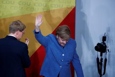 Angela Merkelová bude dál kancléřkou