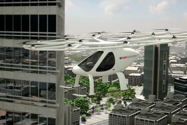 Dubaj otestovala robotický létající taxík. Zkouška skončila naprostým úspěchem