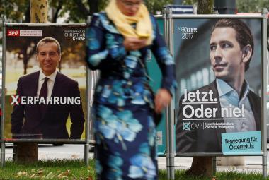 Rakouská předvolební kampaň