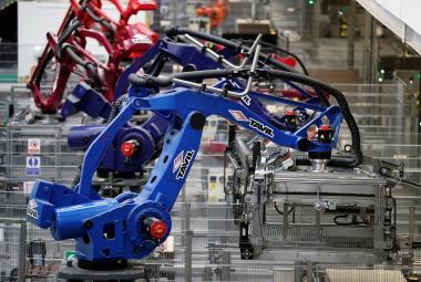 Robotizace výroby v Británii