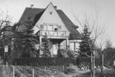 Dům, který patřil rodině Petera Hirschmanna