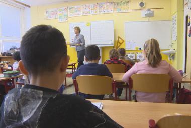 Žáci ZŠ Plynárenská Teplice
