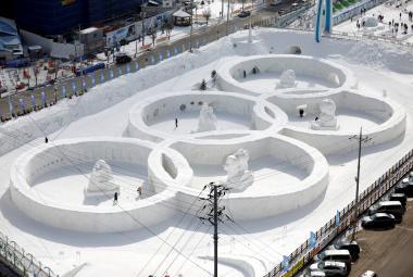 Pchjongčchang se připravuje na olympijské hry