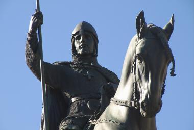 Vědci vytvořili 3D model sochy svatého Václava. Má pomník ochránit před metrem