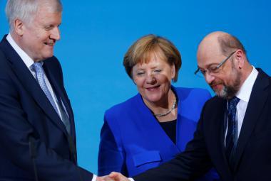 Průlom v jednáních o vládě. CDU/CSU a sociální demokracie našly shodu v daních i limitu běženců