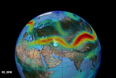 Za extrémy počasí stojí tryskové proudění. Vzdušné proudy o rychlosti letadla se stále častěji vlní
