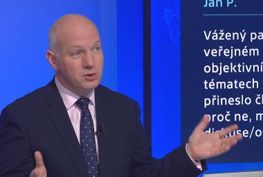 Je tady poptávka po nových tvářích, zvažuje po volbách nabídky stran Pavel Fischer