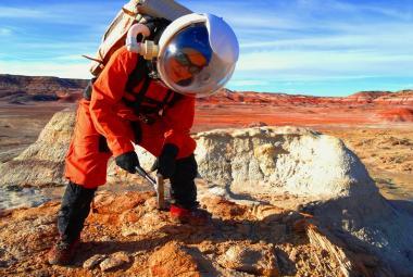 """Slovenská astrobioložka poletí na """"Mars"""". Zatím cvičně, v rámci elitní mise NASA"""