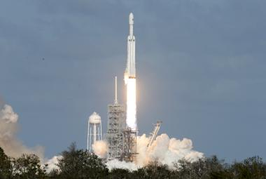 Start rakety Falcon Heavy