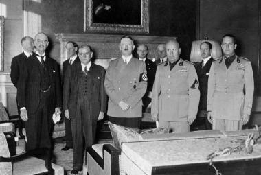 Podpis mnichovské dohody