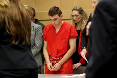 Nikolas Cruz u soudu