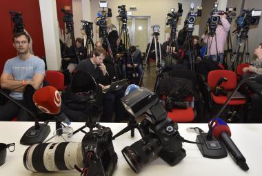 Novináři na Slovensku