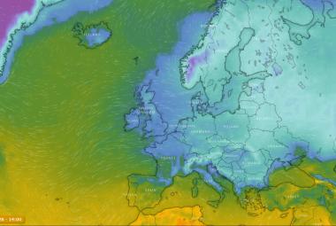 Anomálie mezi anomáliemi: Za extrémní mráz může vlna tepla na severu