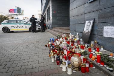 Slovenská policie vyšetřuje vraždu novináře a jeho partnerky